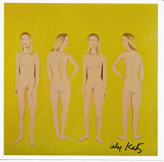 Alex Katz - Four Nudes - Signed