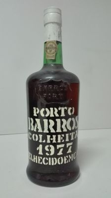 1977 Colheita Port Barros - bottled in 1987
