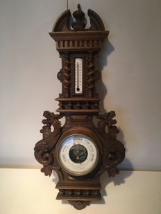 Aneroid barometer French - ca. 1900