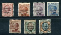 Italy, Kingdom, 1912/1927 – Selection of commemorative stamps