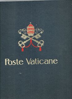 Vatican City in between 1929 and 1990 in Davo album, on sheets with mounts.