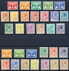 The Netherlands 1925/1928 – Double sided syncopated perforation – NVPH R1/R18 + R19/R31