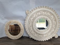 Vintage wall mirrors - Italy - mid 20th century