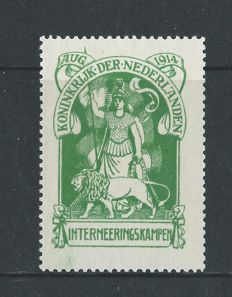 The Netherlands 1916/1951 - Internment, Mail package-settlement and Airmail seagull - NCPH IN1, PV1/PV2, LP13