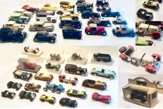 Various - Scale 1/43-1/50 - Lot with 47 old-timer models: Rolls-Royce, Bugatti, Lagonda, Bentley, Mercedes-Benz,  Duesenberg & Others