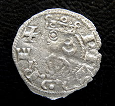 Spain - Kingdom of Aragon - Pedro I (1196–1213) - Aragonese fleece money, mint of Aragon - Very scarce