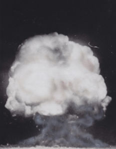 Unknown/AP - First atomic explosion, New Mexico, 1945