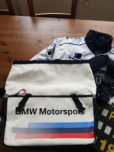 BMW Motorsport collection: Watch - jacket - bag and pendant