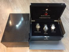 Tag Heuer West Mclaren Mercedes F1 World Champions Trillogy Set Box - 3pc Men's Watch - 1998