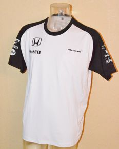 McLaren Honda 2015 Driver T-Shirt ( Button / Alonso ) New !