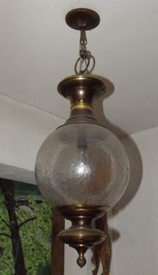 Brass suspensions and glass ball