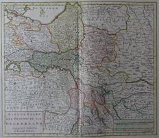 Gelderland; Isaak Tirion / Desterbecque - 2 maps - ca. 1750 / 1840