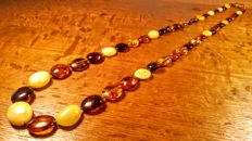 Baltic Amber necklace, 80 cm length