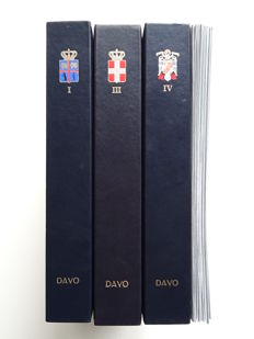 Accessories - 3 DAVO LX albums Iceland, Italy and Spain + 11 supplements
