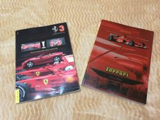 Ferrari - Lot of 2 Yearbooks Edition 2002-2008 - Constructors' World Champion and Drivers' World Champion