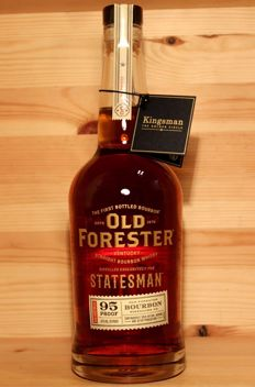 Old Forester Kentucky Straight Bourbon Whisky, distilled exclusively for Statesman, 95 Proof, 700ml