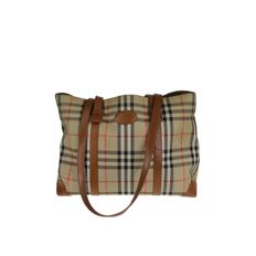 Burberry – Cabas with check motif – *No Minimum Price*