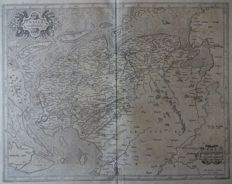 North Netherlands; Gerard Mercator / Henricus Hondius - Frisia Occidentalis - ca. 1630