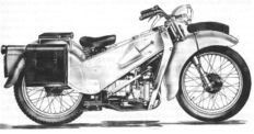 Velocette - LE 200 - Two-cylinder Boxer Parts - A whole pallet full