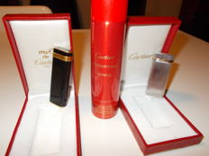 Lot of 2 (two) Cartier lighters
