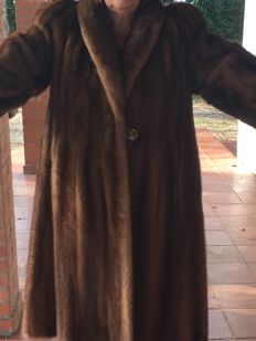 Mink fur coat - Size 48