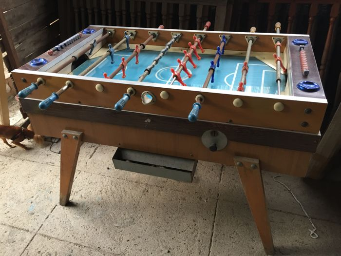 Italian Garlando Foosball From The S Catawiki - Italian foosball table