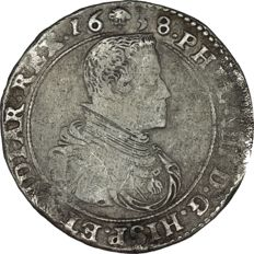 Spanish Netherlands, Brabant - Ducaton 1638 Phillips IV (Brussels) - Silver