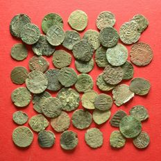 Holy Roman Empire - Lot of 50 Medieval Billon coins mainly from Kremnitz