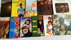 A nice lot of 11 LP's from the  70's by Rickie Lee Jones, CSN&Y, John Sebastian, Richie Havens and others.