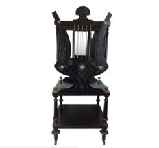Rare winch-shaped scores furniture - Napoleon III - Ca. 1840/1850