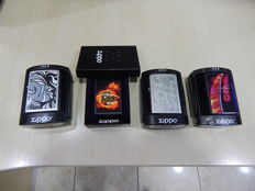 22x Collectible Zippo Lighters - Made in USA