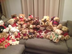 Harrods Christmas bears series 1987 - 2008 (21 pieces)