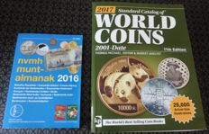 Accessories - Catalogue for World coins 2001 (11th edition 2017) + Almanac for Dutch coins 2016