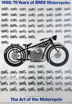 Anonymous - 75 Years of BMW Motorcycles - 1998