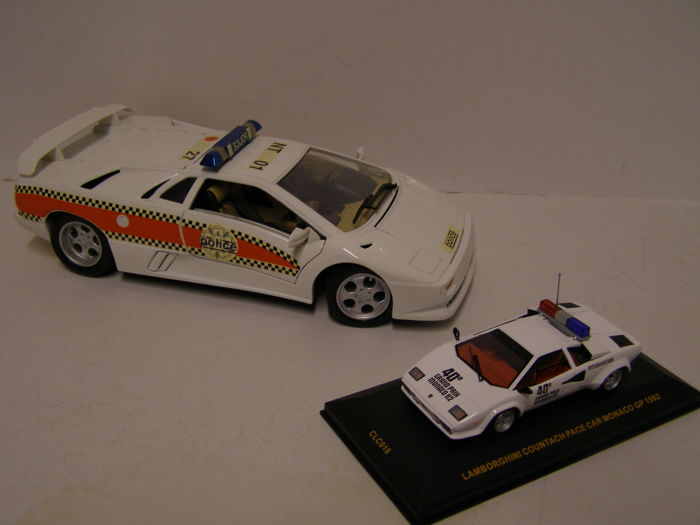 Maisto Ixo Scale 1 18 1 43 Lamborghini Diablo And Countach