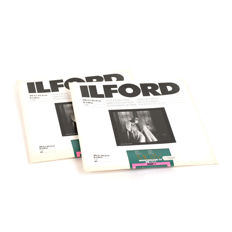 5 packs of Ilford black-and-white darkroom paper