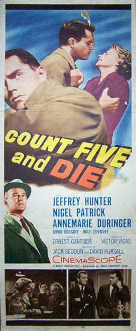 Count Five and Die (Jeffrey Hunter) - 1958