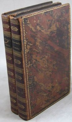English poetry; Lot with 5 volumes - 1814/1909