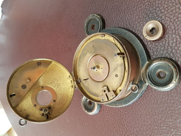 Solid brass time clock