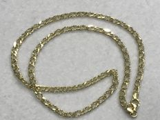 Hungarian style gold necklace