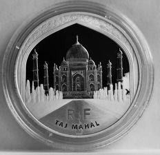 "France - 10 Euro 2010 ""UNESCO World Heritage - Taj Mahal"" - silver"
