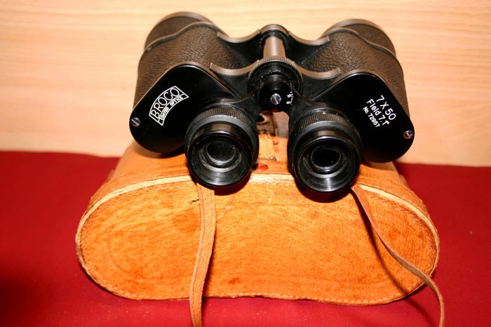 "Binoculars ""BROCO 7x50 field 7.1"" no. 72957"