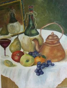 Cerverra (20th century) - Nature morte