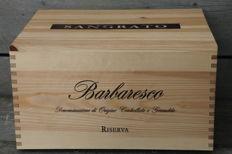 Sangrato Barbaresco Riserva: 2x 2004 & 2x 2005 & 2x 2007 - 6 bottles (75cl) in original wooden case