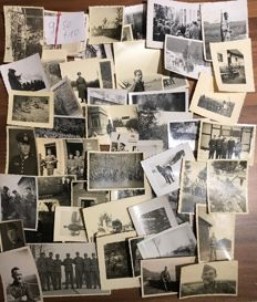 2. WW lot originals 3. Reich, 50 pictures of the German Wehrmacht, Series 9/50