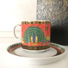 Versace - Rosenthal - Le Voyage De Marco Polo - collectable coffee cup