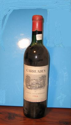 1964 Carruades de Chateau Lafite Rothschild, Pauillac, France - 1 bottiglia