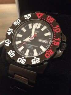 Seiko - Black monster  full set ! - SNZF53K1 - Homem