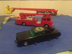 "Corgi (Major) Toys - Scale 1/43-1/48 - ""Dennis Snorkel Fire Engine"" No. 1127 and ""Green Hornet"":  No. 268"