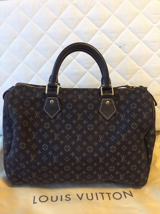 Louis Vuitton - Mini Lin Speedy 30 Ebene